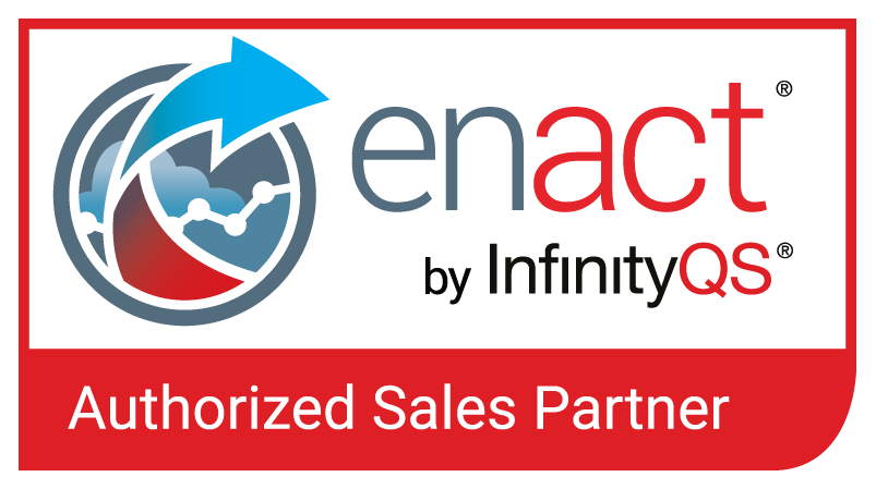 Red Authorized Enact Partner Logo PNG